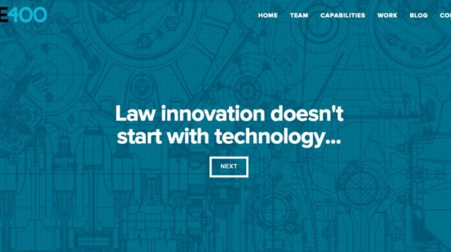 law innovation doesn't start with technology