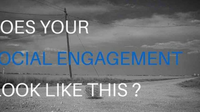 does your social engagement look like this?