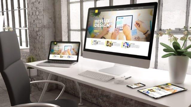 cool law firm websites, top legal websites concept industrial office mockup ux design website